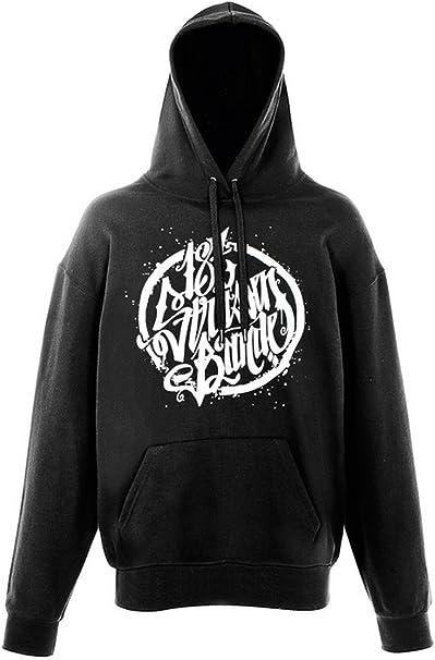 187 Straßenbande Logo Hoodie schwarz: : Bekleidung