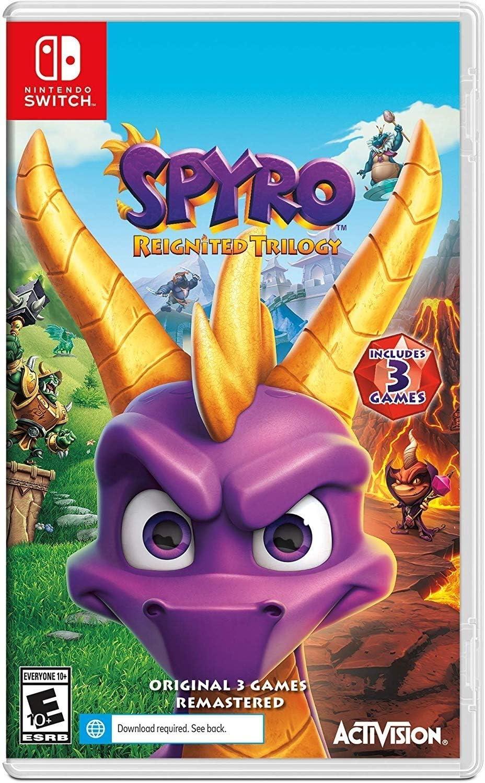 Resultado de imagem para Spyro Reignited Trilogy switch