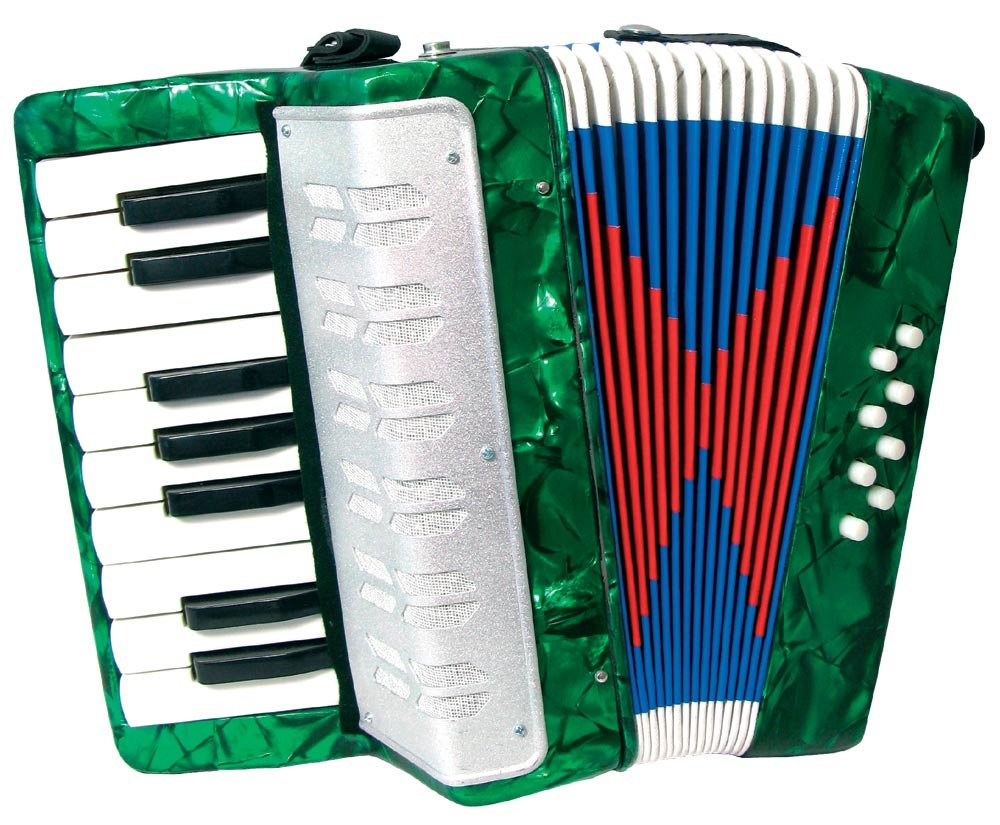 Scarlatti Child's Accordion - Green Scarlatti Accordions ST104 GREEN