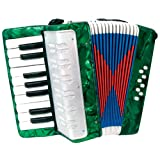 Scarlatti Child's Accordion - Green