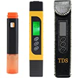 Water Tester, Genround TDS Meter Digital Water Tester with Water Mineral Test Kit Water Quality Tester TDS Testers For Home Well Drinking Water