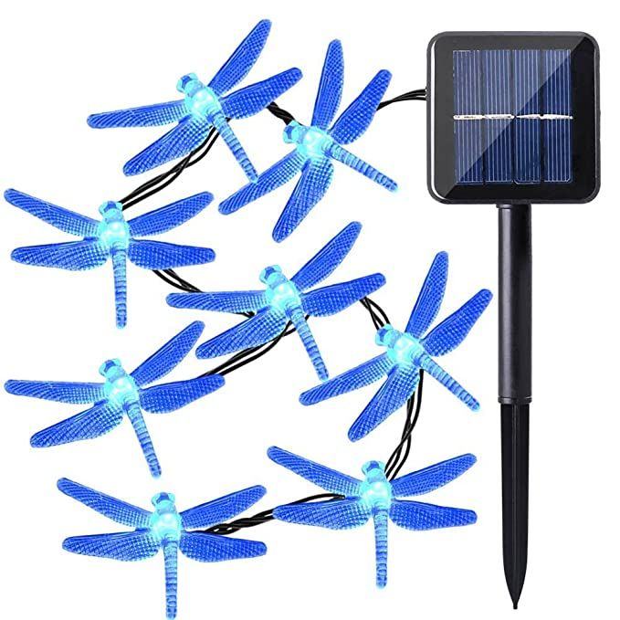1 opinioni per Qedertek Luci Natalizi da Esterno 4.8M 20 LED illuminazione Solare Addobbi