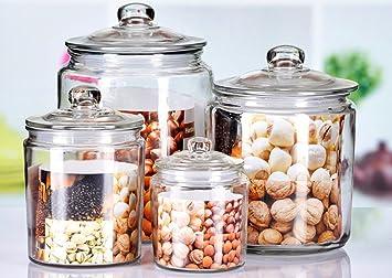 Gläser Aufbewahrungsboxen storage jar container aufbewahrungsboxen verschlossenen glas
