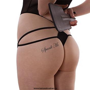 spank me tattoo