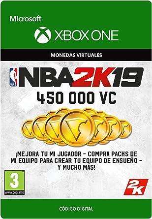 NBA 2K19: 450,000 VC - Xbox One - Código de descarga: Amazon.es: Videojuegos