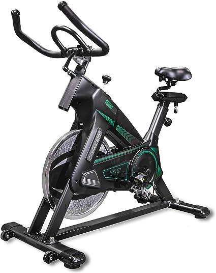 Bicicleta estática de alta resistencia con correa de transmisión ...
