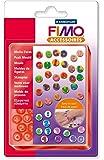 """Staedtler - Fimo Accessoires - Moule Flexible en Silicone 40 Motifs """"Lettres & Chiffres"""" 1 x 1 cm - Sous Blister"""