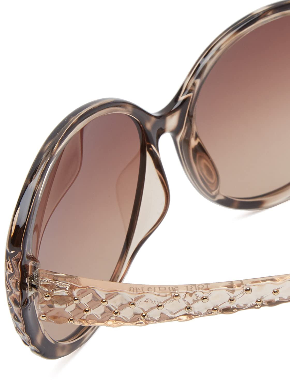 Amazon.com: baby phat 2077 Round Sunglasses,Tortoise,58 mm: Clothing