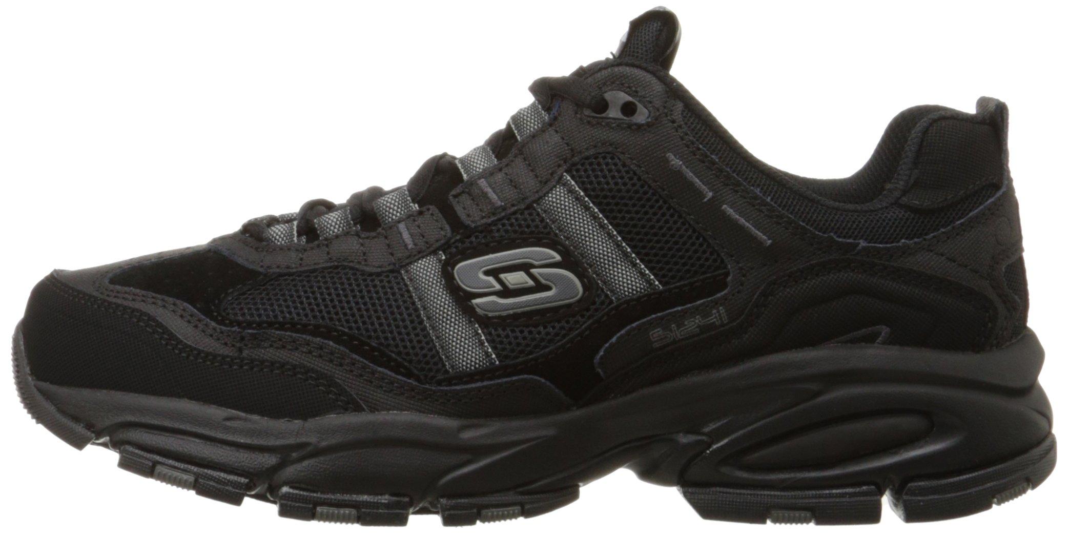 Skechers Sport Men's Vigor 2.0 Trait Memory Foam Sneaker, Black, 12 M US by Skechers (Image #5)