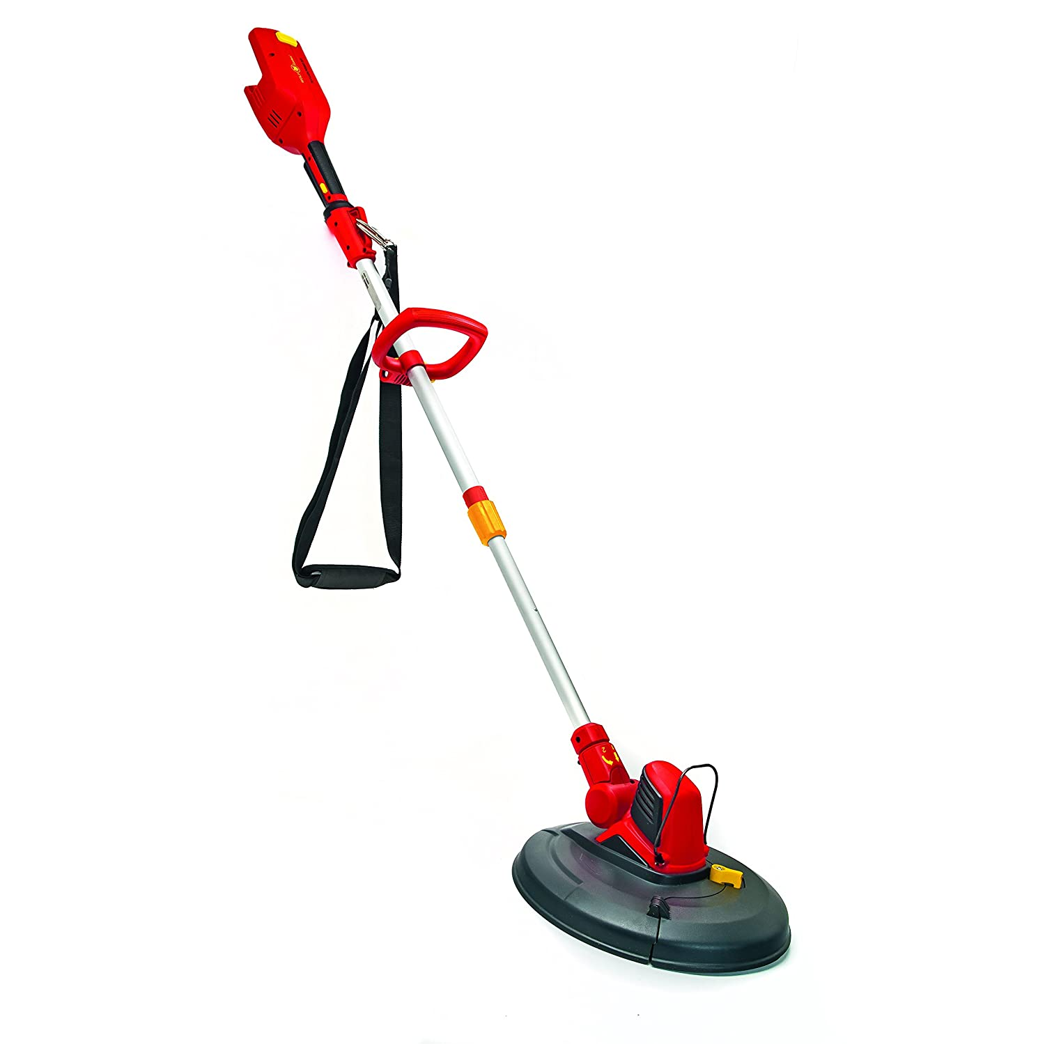 Wolf-Garten LIONPOWER30T 72 V Li-On Battery Grass Trimmer without Battery New - Red/Yellow Wolf Garten