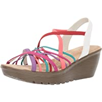 Skechers Women 41103 Parallel - Crossed Wires - Multi Gore Slingback Sandal