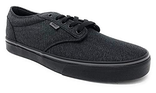 best authentic autumn shoes best quality Vans Men's Atwood Low-Top Sneakers Shoes (11) Black