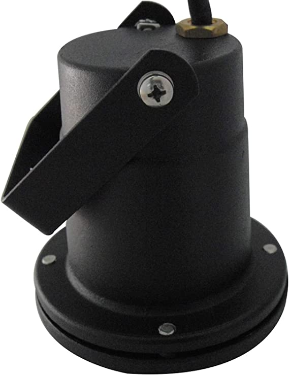 Erdspie/ß 4000K Neutralwei/ß 250lm LED Boden Aufbaustrahler Sophie 1 x 3W MCOB Bodenspot 230V IP68 Farbe Schwarz inkl