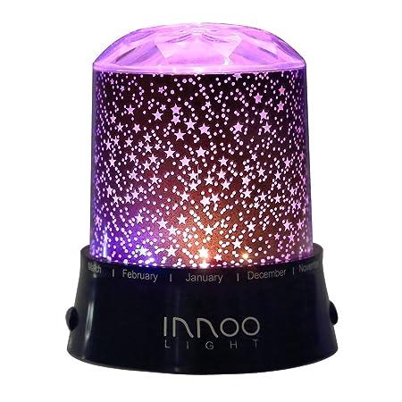 innoolight noche estrellada luz lámpara, LED cielo estrella ...