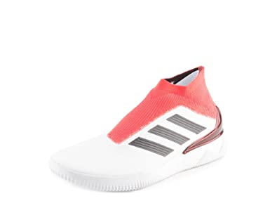 adidas Mens Predator Tango 18+ TR White Black Red Woven Size 9.5 ... e39fc0444