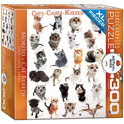 EuroGraphics Cats Puzzle (300-Piece)