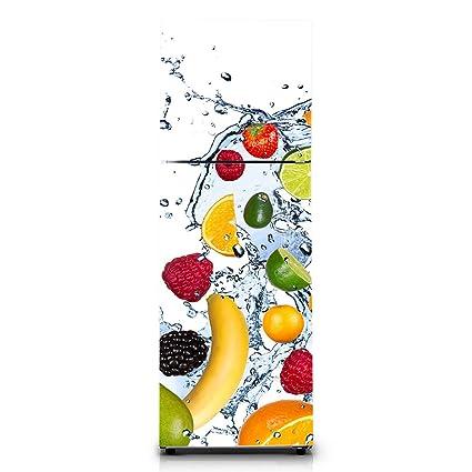 Vinilos Para Frigos.Pegatina Frigo Vinilo Para Nevera Stickers Fridge Fruits 2