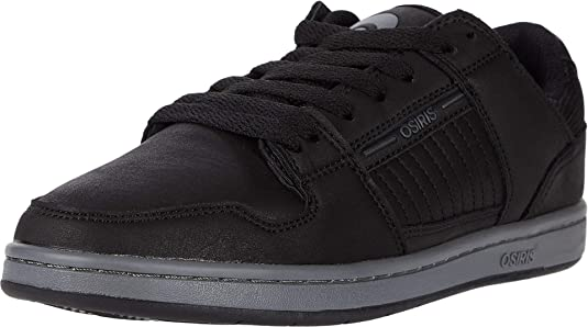 Osiris Vice 1360 115 Mens Black Synthetic Skate Inspired Sneakers Shoes