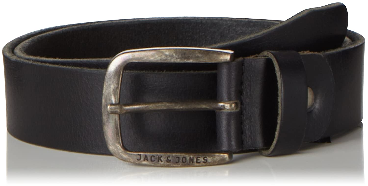 JACK & JONES Herren Gürtel Jjipaul Jjleather Belt Noos 12111286