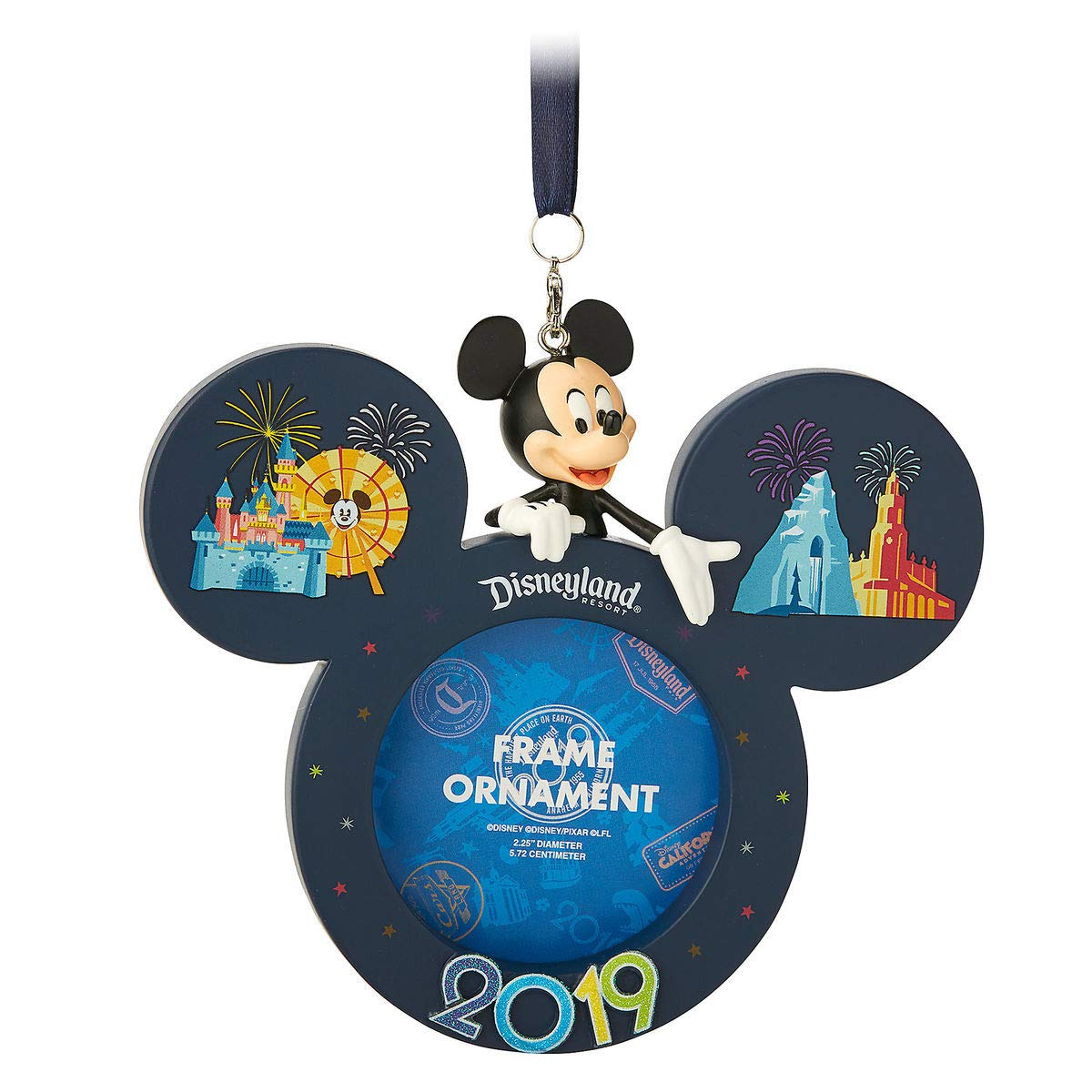 Theme Parks Disneyland Resort 2019 Mickey Mouse Frame Ornament