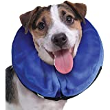 KONG - Cloud Collar - Plush, Inflatable E-Collar - for Injuries, Rashes and Post Surgery Recovery - for Small Dogs/Cats