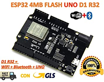 TTgo ESP32 WiFi + Bluetooth Board Flash of 4MB UNO D1: Amazon co uk