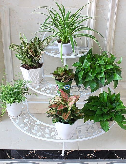 Estantes De Flores Para Interiores Terraza Creativa Balcón