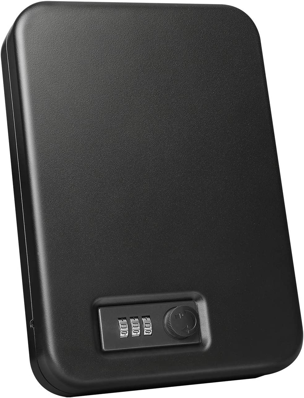 Fortress Portable Safe with Combination Lock, Black (11C10)