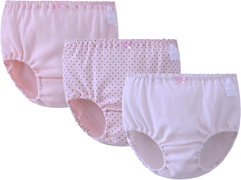 ABClothing Cotton Girls 1.5T-12T Underwear 3 Pack Briefs /& Bikini Shorts Boyshort 11 Patterns