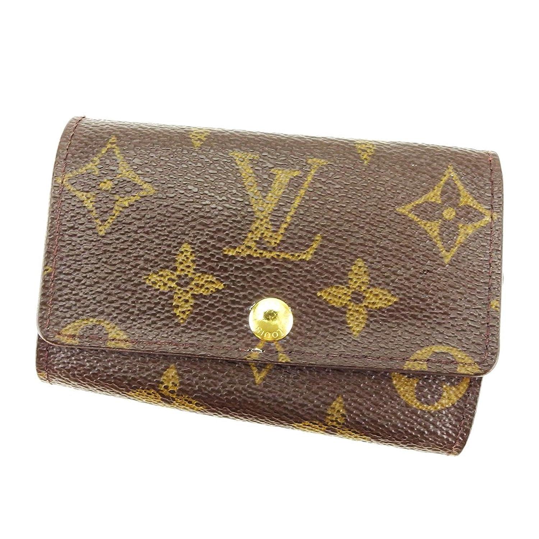 [ルイ ヴィトン] Louis Vuitton キーケース 6連キーケース メンズ可 ミュルティクレ6 M62630 モノグラム 中古 T3906 B0777Q15T5