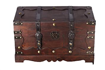 432 baúl, Cofre baúl, Cofre del Tesoro, madera, caja pirata, muebles