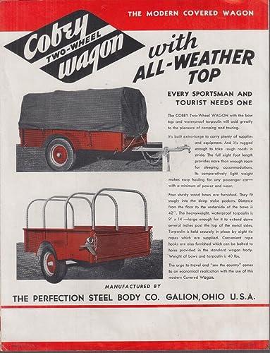Amazon.com: Perfection Steel Body Cobey 2-Wheel Wagon sales ...