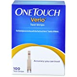 One Touch Verio - Strisce reattive OneTouch Verio - 100 Count