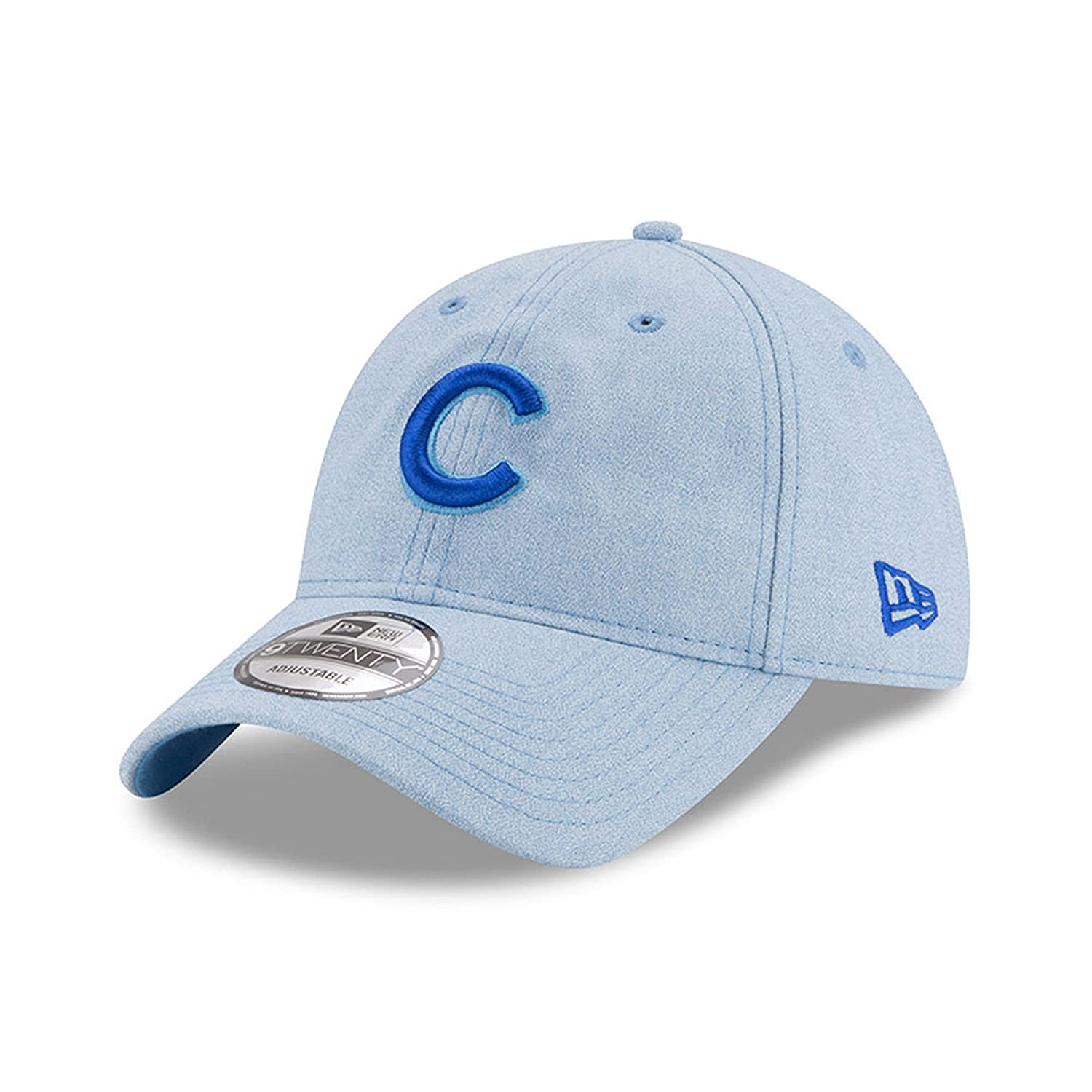 Amazon.com   New Era Chicago Cubs 2018 Father s Day 9TWENTY Adjustable Hat  - Light Blue   Sports   Outdoors 1d2b83334ed