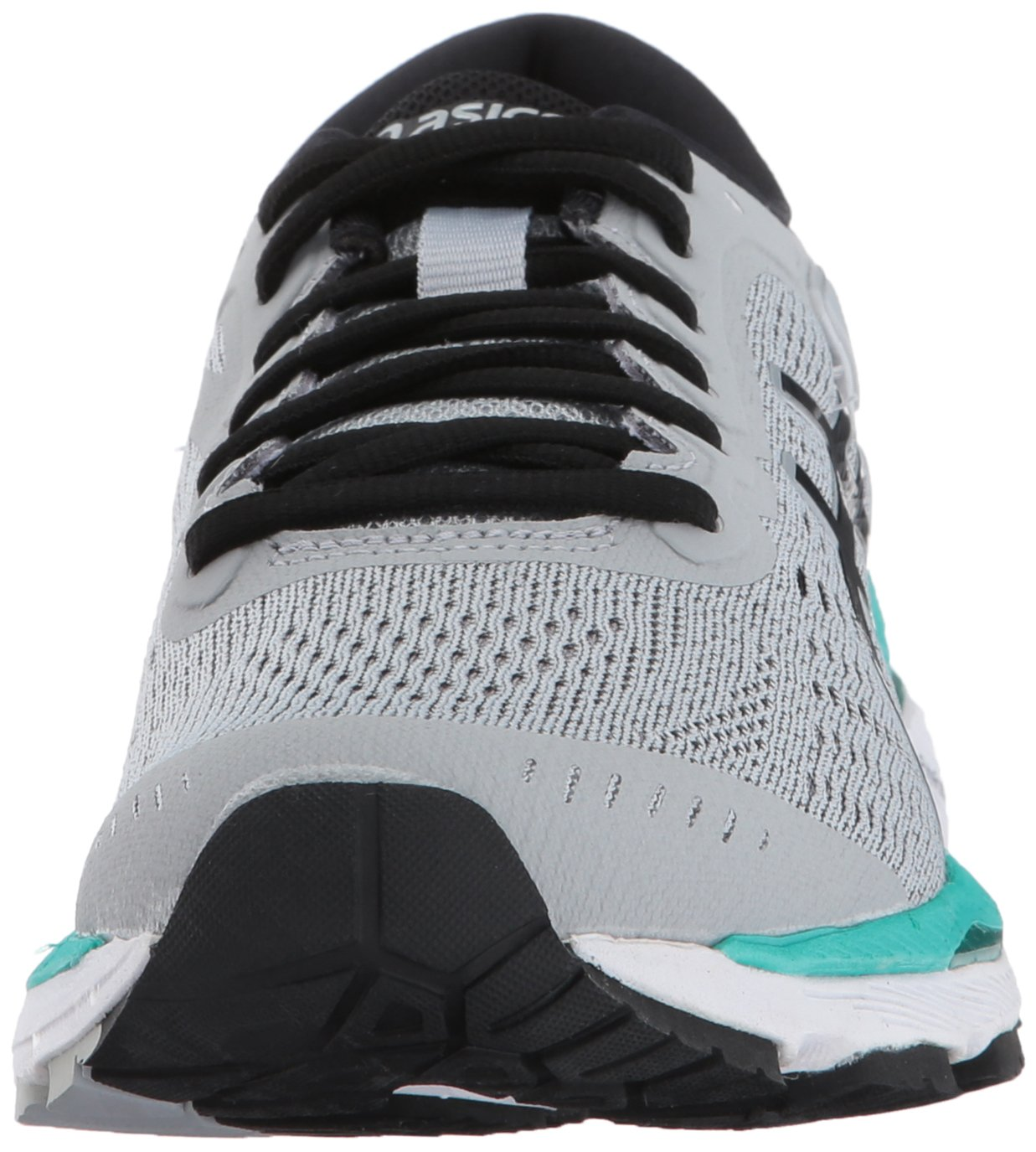 ASICS Women's Gel-Kayano 24 Running Shoe B01N3PK23S 7.5 B(M) US|Mid Grey/Black/Atlantis