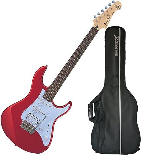 Yamaha pac012 Pacifica – Guitarra eléctrica (metálico rojo) W ...