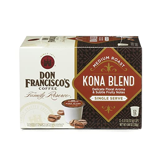 Don Francisco's Kona Blend Keurig coffee pods