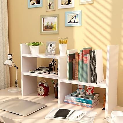 Shelf Estantería telescópica Creativa Estantería librería de ...