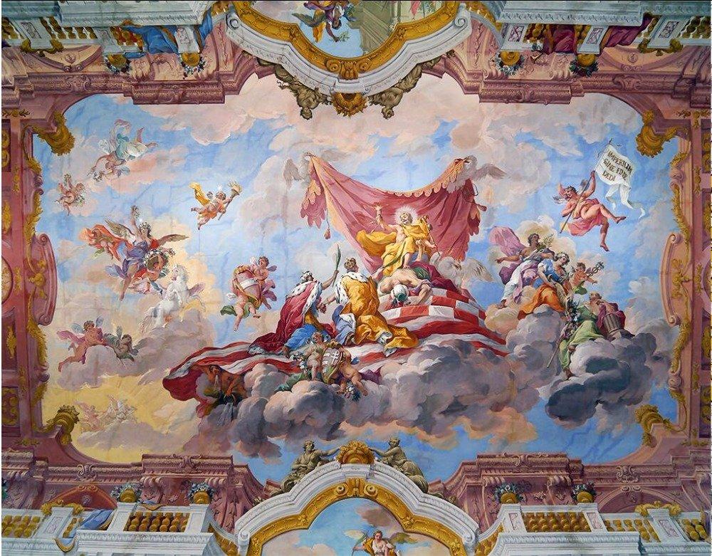 Lwcx Custom Photo 3d Ceiling Murals Wall Paper Zeus In Greek