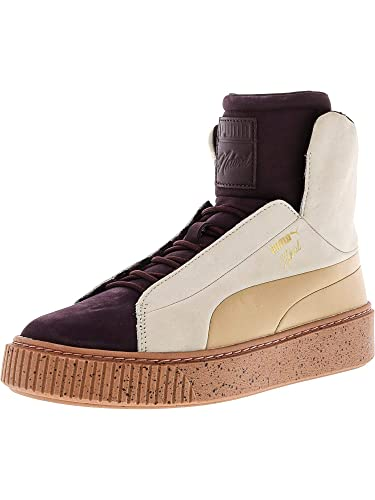 b7fa9b52bd69af Amazon.com | PUMA Women's Platform Fshn Naturel High-Top Fashion Sneaker |  Shoes