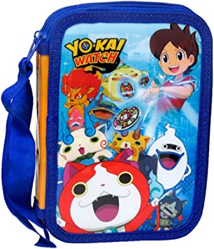 Yo-Kai Watch- Plumier 2 Pisos (CYP Imports EP-101-YK): Amazon.es: Juguetes y juegos