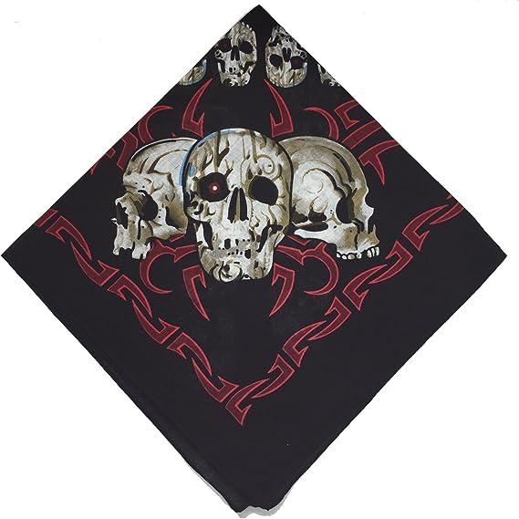 Black Paisley Bandana Bandanna Headwear//Hair Band Scarf Neck Wrist Wrap Headtie