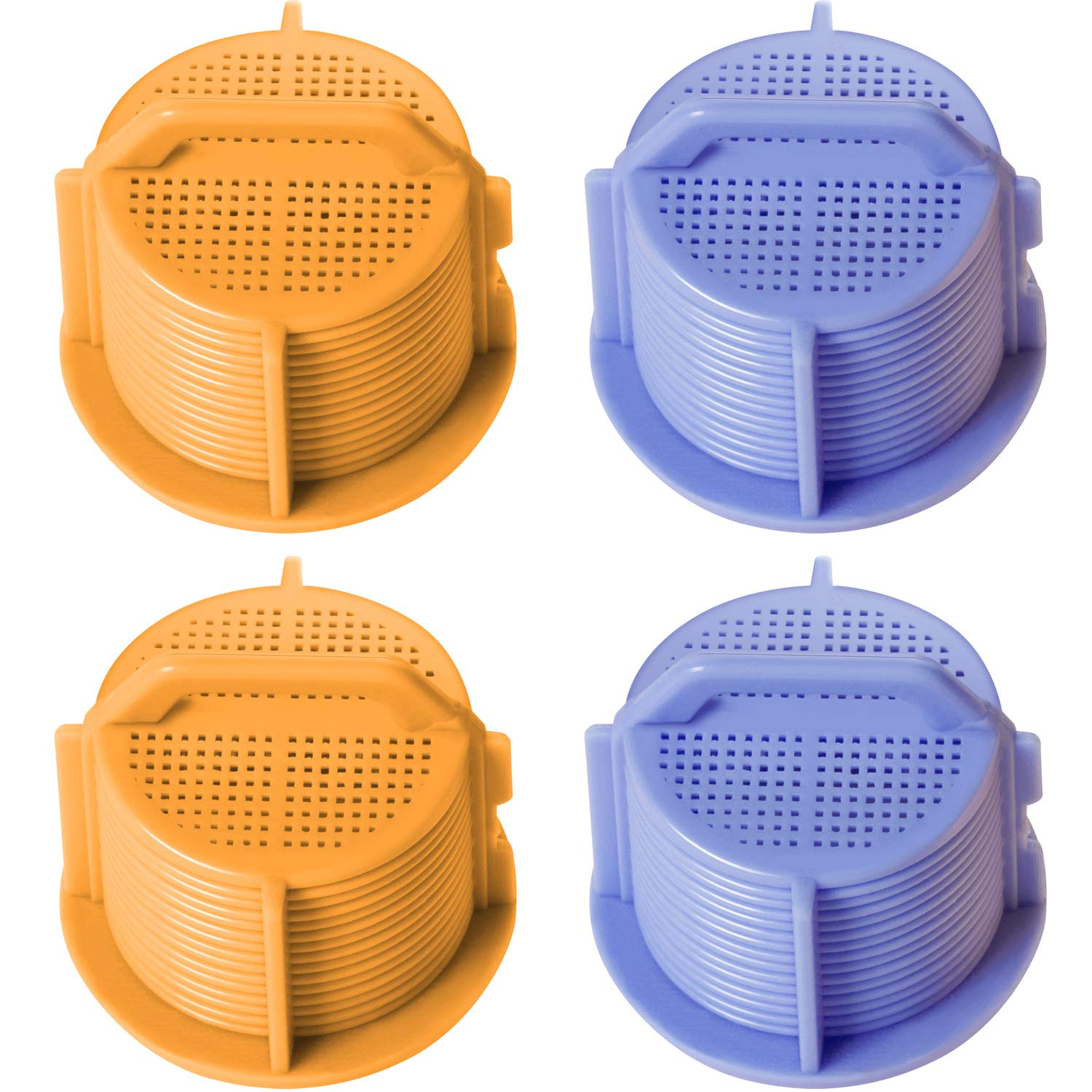 Jetec 4 Pieces AGM73269501 Washing Machine Inlet Valve Filter Screen Compatible with LG