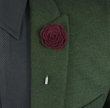 usix 14pc pack-handmade Hombres de Pin de solapa rosa de ...
