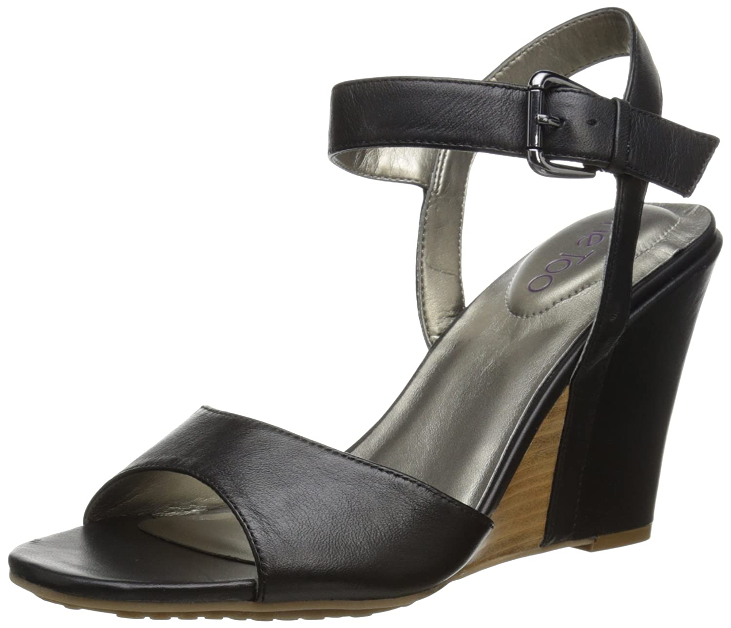 Me Too Women's Lucie Dress Sandal B00QWQDSRI 7.5 B(M) US|Black Nappa