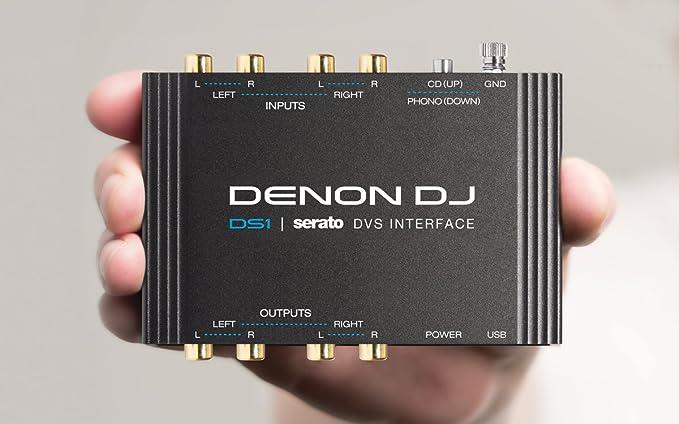 Amazon.com: Denon DJ DS1   Interfaz de bolsillo para audio ...