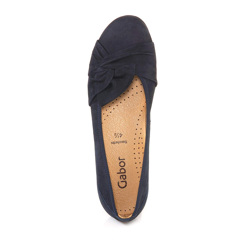 Gabor 24.150 Mujer,Bailarinas Clásicas,Zapatos Planos,Zapatos de Verano,clásicamente Elegantes,Hovercraft- Luftkammernsohle Luftkammernsohle Luftkammernsohle b51370