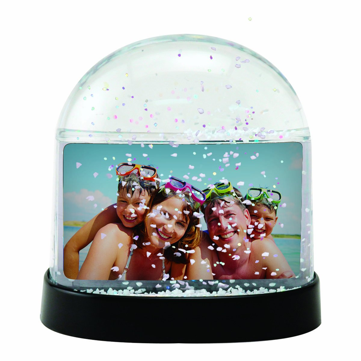 Horizontal Photo Snow Globe (Clear) Neil Enterprises Inc. 2723CH