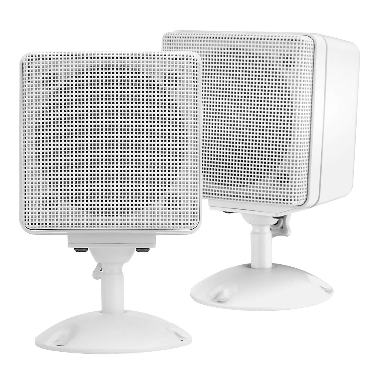 Magnadyne LS4W-PAIR 3'' Ceiling Mount Satellite Speakers for RV's or Mobile Homes 1 Pair (White)