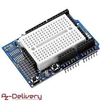 AZDelivery ProtoShield Prototipo Prototype Prototyping Shield + ...